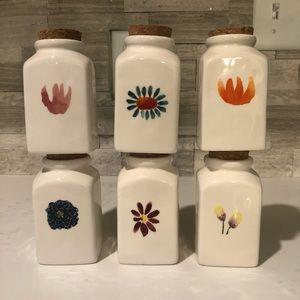 Rae Dunn Spice Jars